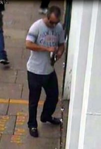Pic shows Rakesh Bhayani. cctv image of him using an ATM machine to take cash from her bank account. A 'Dirty Rotten Scoundrel' who murdered millionairess Carole Waugh to gamble away her home and savings is facing a life sentence. Professional conman Rakesh Bhayani, 41, stabbed 49 year-old Carole Waugh to death in her flat and dumped her body in a car boot. SEE STORY CENTRAL NEWS