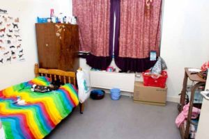 Pic shows Daughter bedroom of Aravindan Balakrishnan A 75-year old cult leader known as 'Comrade Bala' could die in jail after he was convicted of raping two of his followers and keeping his daughter a prisoner until she was 30. Aravindan Balakrishnan, 75, claimed he was a God, with power over all the world's natural events. He tried to 'break' his adoring female disciples in 'The Collective' by forcing them to perform humiliating sex acts on him. SEE STORY CENTRAL NEWS