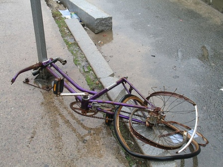 Four accused of 'pushbike murder'