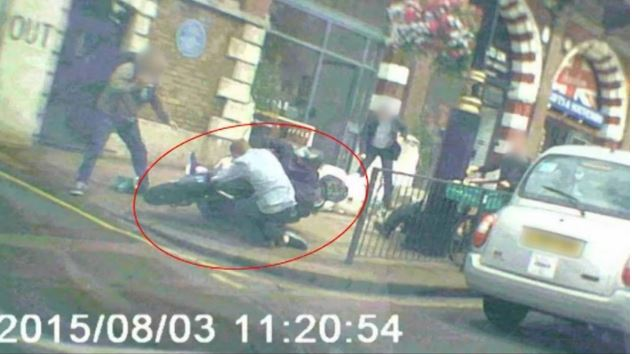 Life for axe robber who left brave cop seriously injured