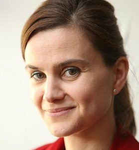 Pic shows Jo Cox. MP A 'remain' supporting Labour MP was brutally murdered by one of her constituents shouting 'Britain First' a week before the Brexit vote, a court heard. Thomas Mair, 53, stabbed and shot Jo Cox, 41, in a 'cowardly' attack carried out for a political or ideological cause, jurors heard. SEE STORY CENTRAL NEWS