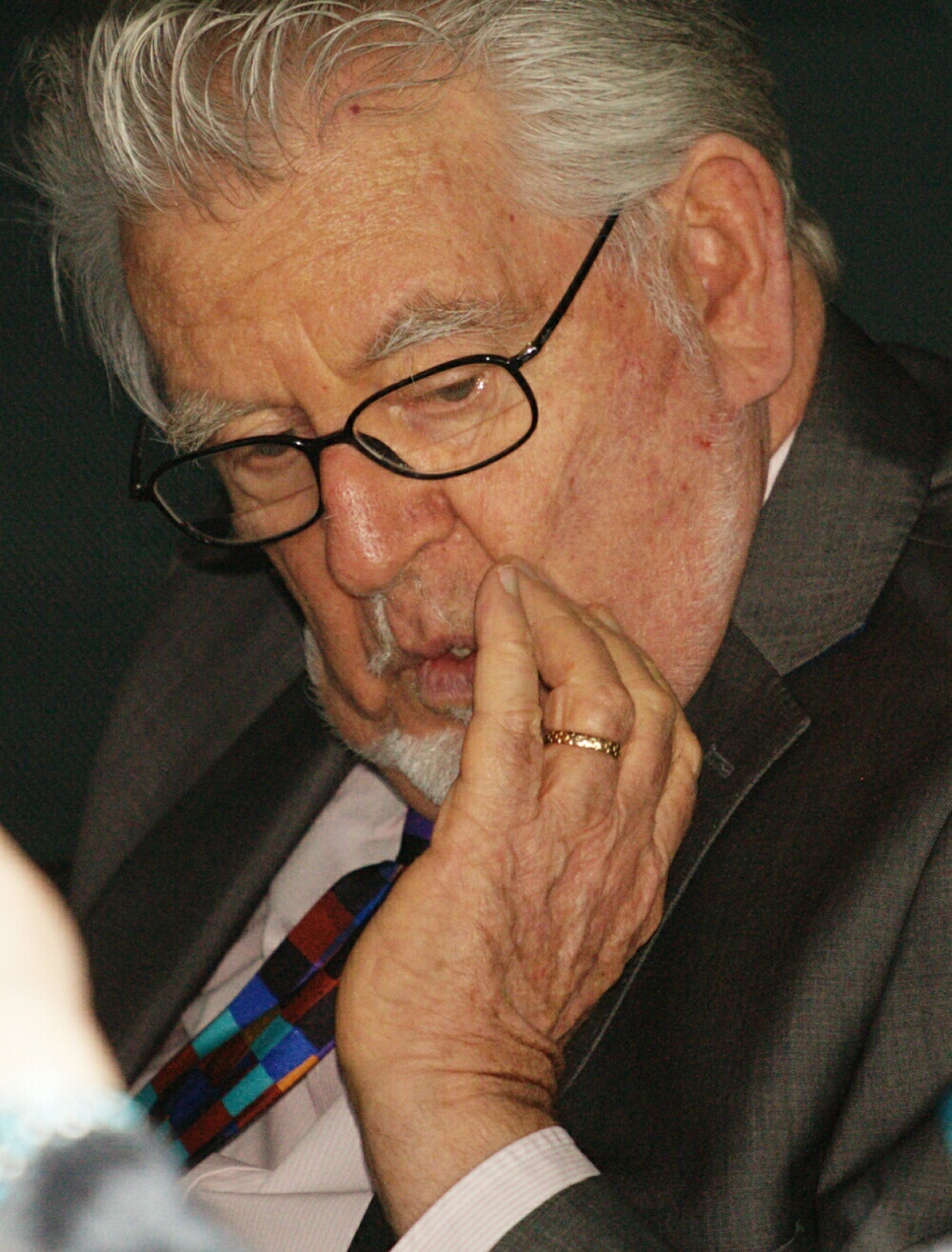Rolf Harris 'slobbered over a blind woman' at eye hospital