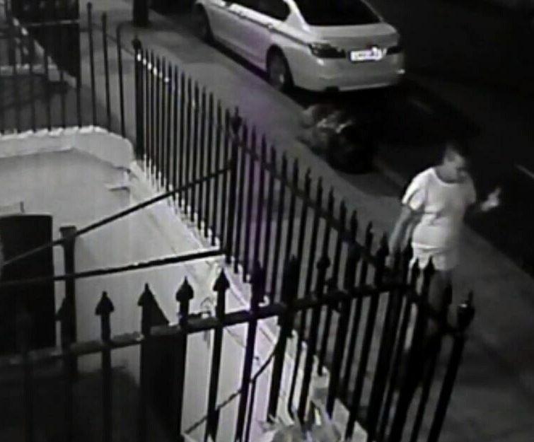 Deranged Russell Square killer captured on CCTV