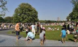 Nurse snapped women sunbathing next to Diana Memorial Fountain