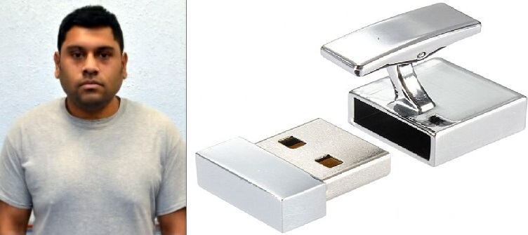 Cyber-jihadi stored his secrets in USB sticks disguised as cufflinks
