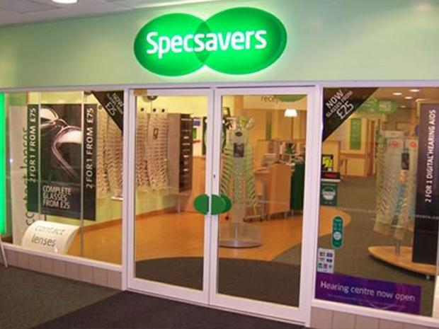 Will he ever see sense? Burglar raids Specsavers FIVE times
