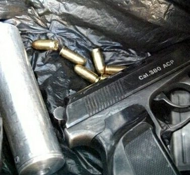 Jail for gun gang