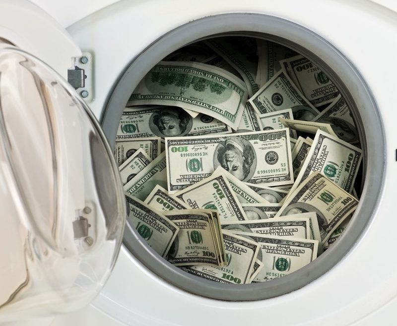 Mother and son 'were laundering cash'