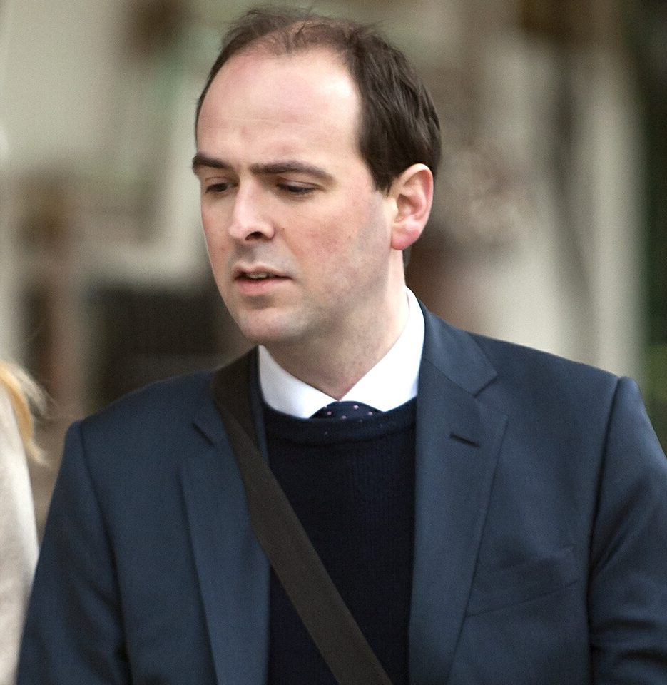 'Groping Tory' had drunk a gallon of beer