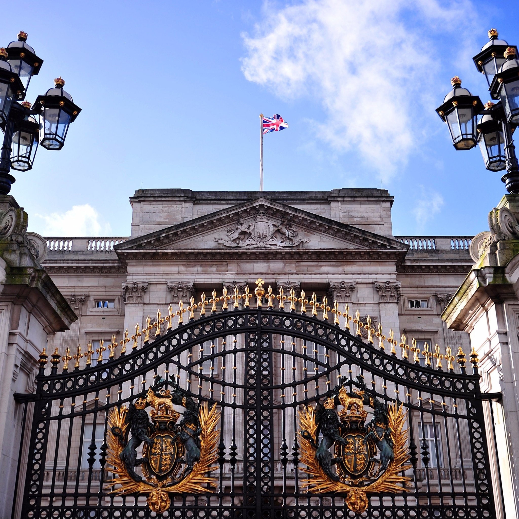Buck House 'wrecker' refuses to come out
