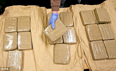 Accused heroin smugglers in court
