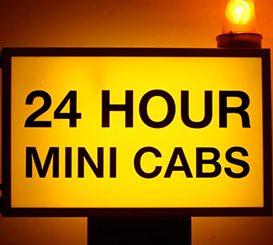Mini cab mugger gets five