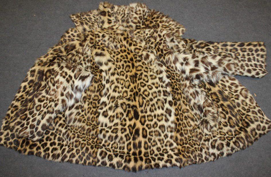 eBay trader flogged coats made from ocelot