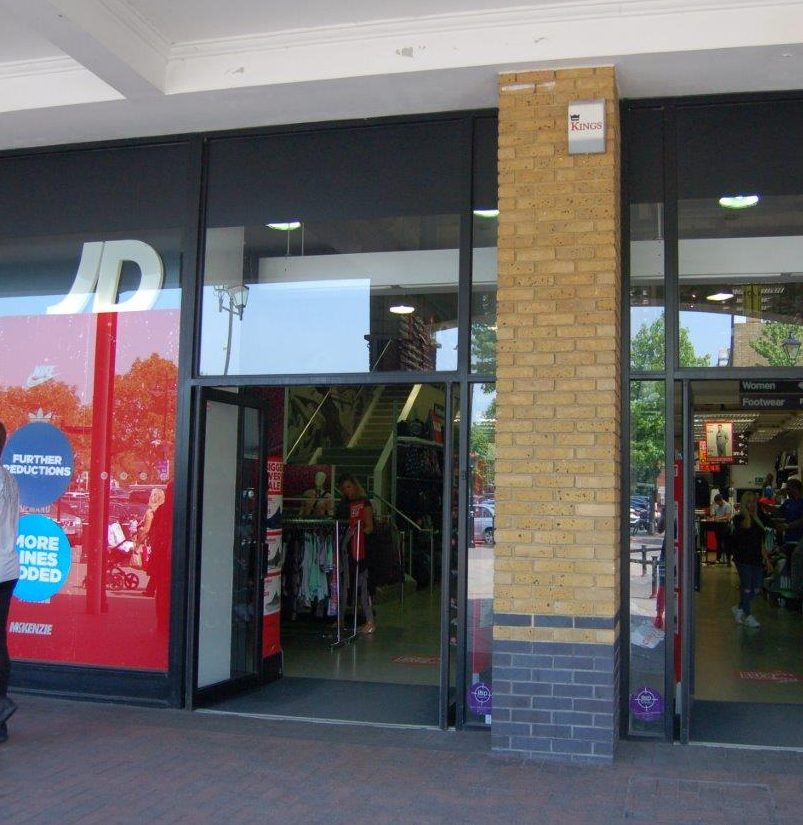 Killers nipped into JD Sports to change clothes