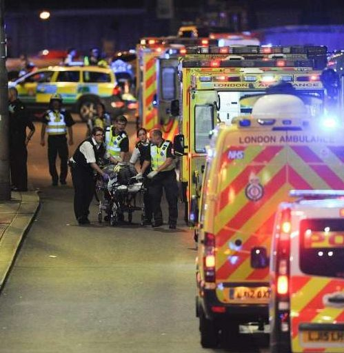 Paramedics stayed away from terror attack 'hot zone'