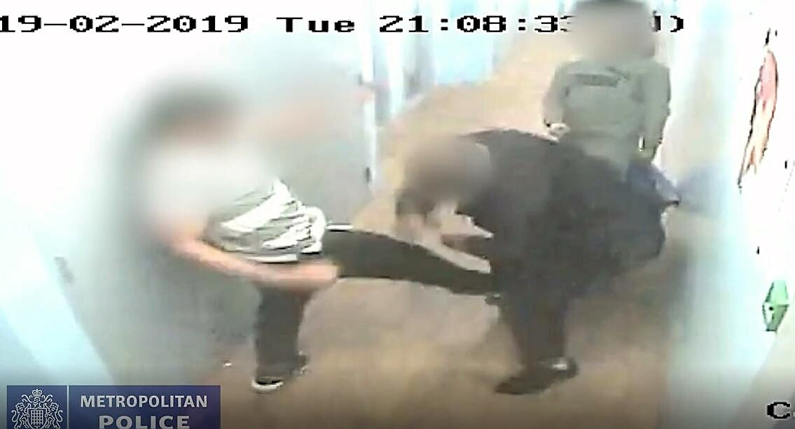 Remorseless! Killer teen's cop attacks