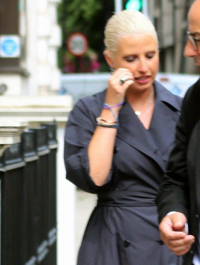 German art collector in court