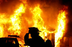 Woman set her home on fire