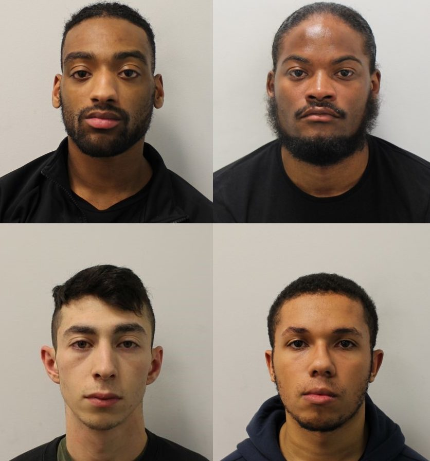 Three soldiers from of Queen's bodyguard regiment were armed robbery gang