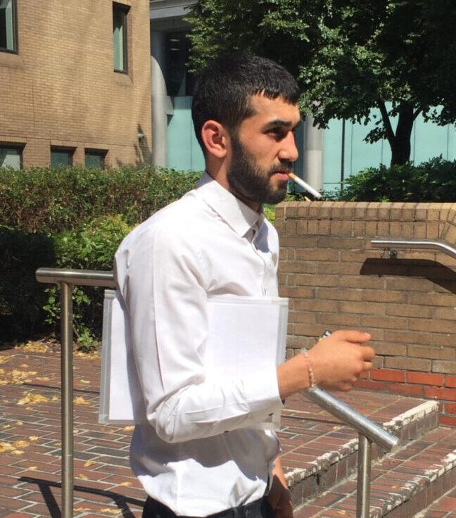 Convicted sex attacker 'head-butted Good Samaritan'