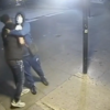 Killers hug before stabbing a father to death