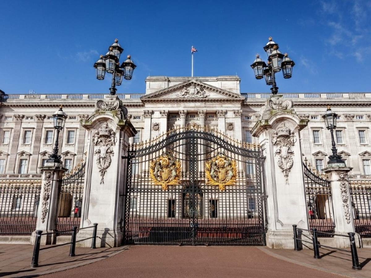 The Axeman of Buck House
