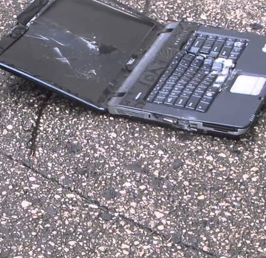 Phishing scammer threw his laptop out the window